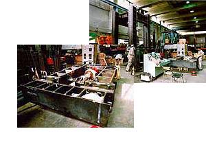 鋼構造学・建築施工学 建築構造物の中で鋼構造、鋼・コンクリート合成構造を主な対象として、 力学的